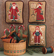 Santas Revisited VI (1995, 2003, 2004) Cross Stitch Pattern
