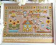 Sunflowers Farm - Cross Stitch Pattern