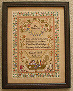 Elizabeth Powell 1819 - Cross Stitch Pattern