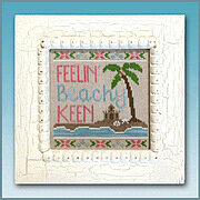 Beachy Keen - Cross Stitch Pattern
