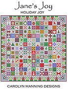 Holiday Joy - Jane's Joy - Christmas Cross Stitch Pattern