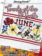 Towels of the Month - June - Cross Stitch Pattern