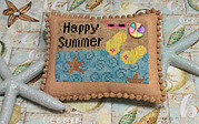 Happy Summer - Cross Stitch Pattern
