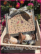 Spring Fling Stitching Bag - Cross Stitch Pattern