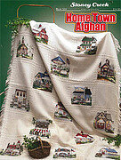 Home Town Afghan - Cross Stitch Pattern