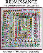 Renaissance (Garden Labyrinth) - Cross Stitch Pattern