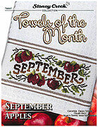 Towels of the Month - September - Cross Stitch Pattern