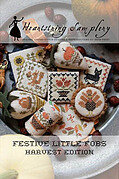 Festive Little Fobs 9 - Harvest Edition Cross Stitch Pattern
