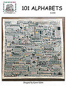 101 Alphabets - Cross Stitch Pattern