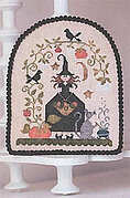 Jolie Sorciere - Cross Stitch Pattern