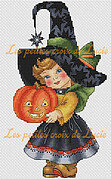 Halloween Girl - Cross Stitch Pattern