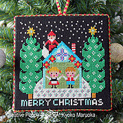 Santa Has Come - One - Cross Stitch Pattern
