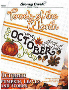 Towels of the Month - October - Cross Stitch Pattern