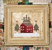 Crown House - Cross Stitch Pattern