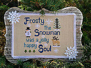 Frosty - Cross Stitch Pattern