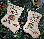 Sampler Stockings 2018 - Cross Stitch Pattern