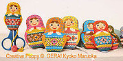 Matryoshka Needlework Set - Cross Stitch Pattern