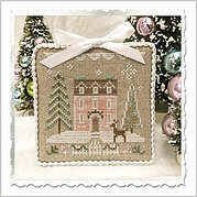 Glitter House 4 - Cross Stitch Pattern