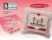 Merry Making Mini - Love Blooms - Cross Stitch Pattern