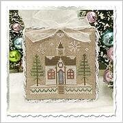 Glitter House 5 - Cross Stitch Pattern