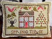 Spring Time - Cross Stitch Pattern