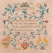 Elizabeth West - Cross Stitch Pattern