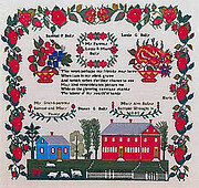 Mary Ann Baily 1842 - Cross Stitch Pattern