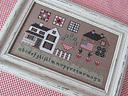 American Farmhouse - Cross Stitch Pattern