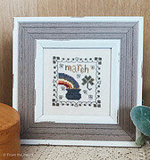 March Squared - Cross Stitch Pattern