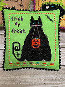 Sophie's Trick or Treat - Cross Stitch Pattern