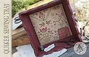 Quaker Sewing Tray - Cross Stitch Pattern