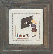 At School - Cross Stitch Pattern