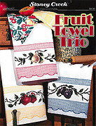 Fruit Towel Trio - Cross Stitch Pattern