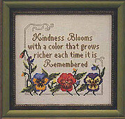 Kindness Blooms - Cross Stitch Pattern