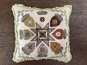 Autumn Acorns - Cross Stitch Pattern
