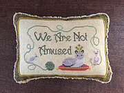 Life With Cats - Not Amused - Cross Stitch Pattern