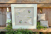 Flowers and Love - Cross Stitch Pattern