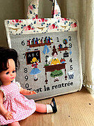 C'est La Rentre - Cross Stitch Pattern