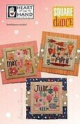 Square Dance - April, May, June - Cross Stitch Pattern