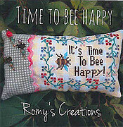 Time to Bee Happy - Cross Stitch Pattern