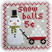 Snowy 9 Patch - Part 4 - Cross Stitch Pattern