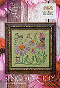 Sing for Joy - Songbird's Garden 10 - Cross Stitch Pattern