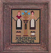 Stitcher's Friendship - Cross Stitch Pattern