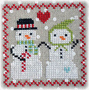 Snowy 9 Patch - Part 5 - Cross Stitch Pattern