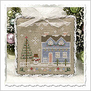 Glitter House 9 - Cross Stitch Pattern