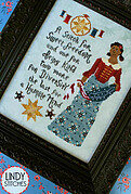 Stitch For Sweet Freedom - Cross Stitch Pattern