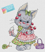 La Cueillette - Cross Stitch Pattern