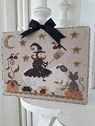 Mouton D'Halloween - Cross Stitch Pattern