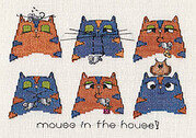 Mouse in the House - Cross Stitch Pattern