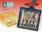 Merry Making Mini - Land of the Free - Cross Stitch Pattern